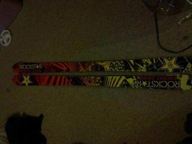 Rockstar skis 170