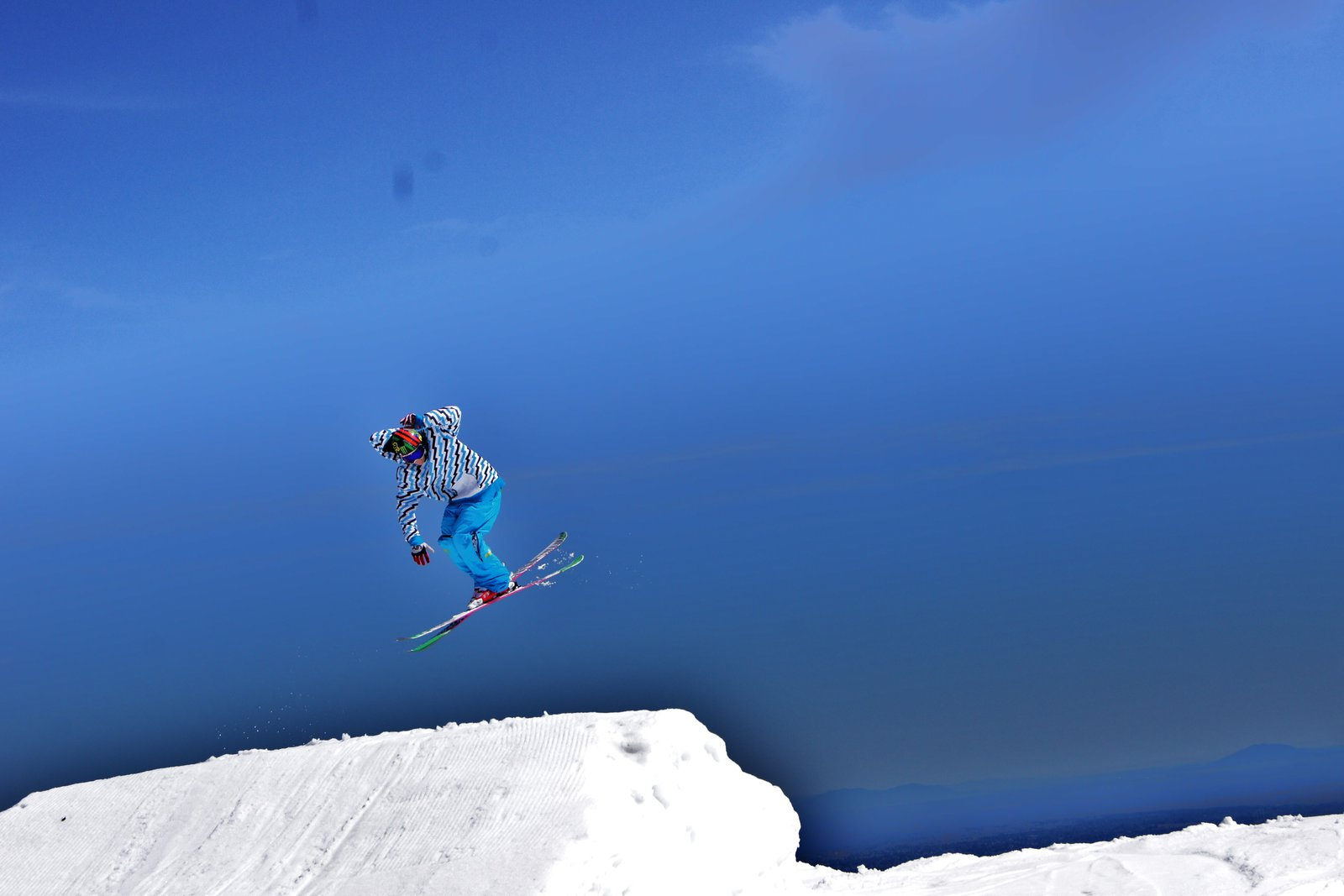 Summer skiing grouse
