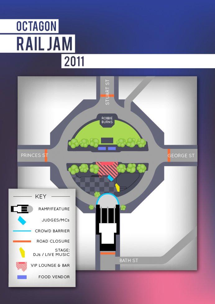 Octagon Rail Jam
