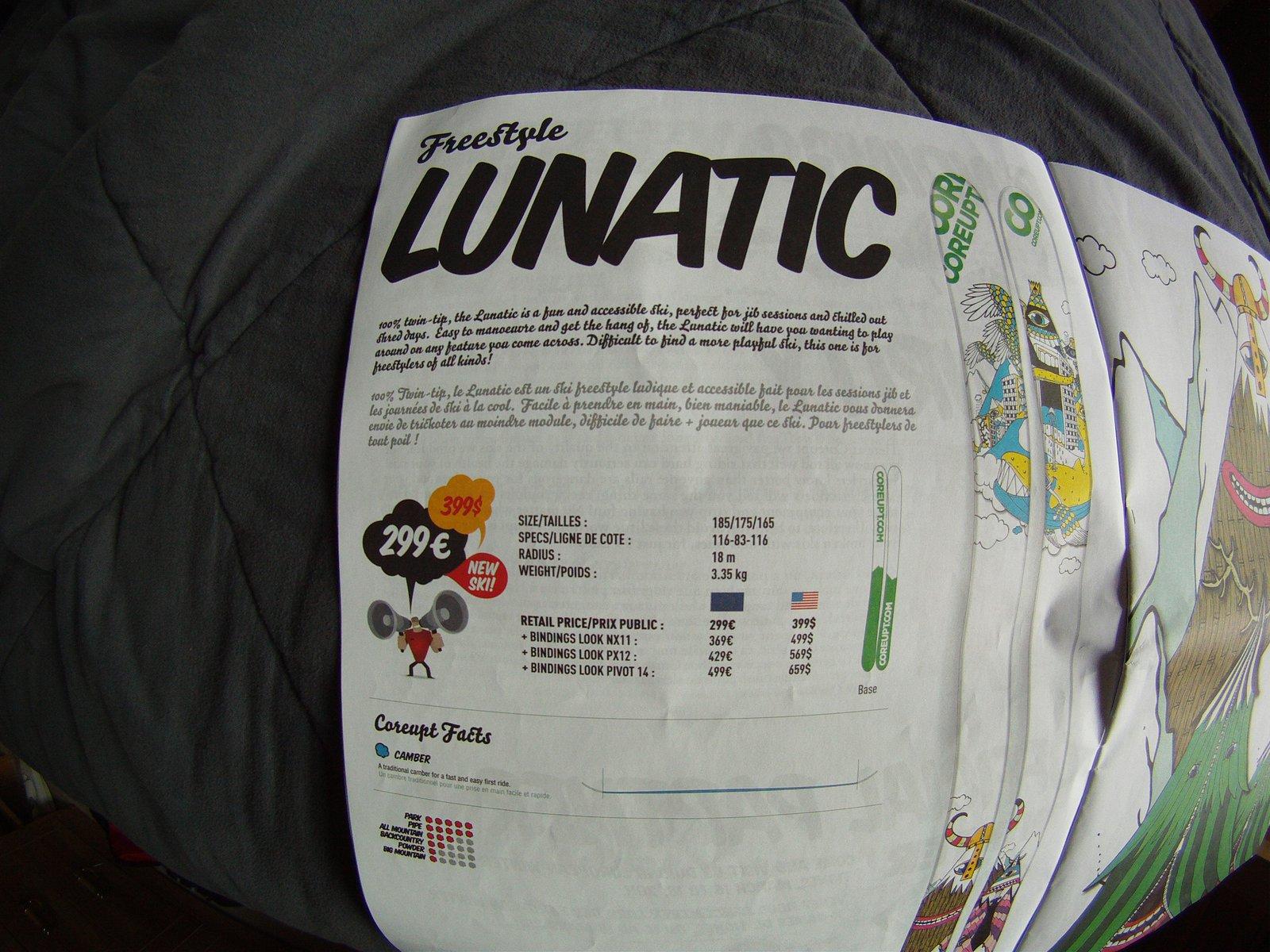Coreupt Lunatic