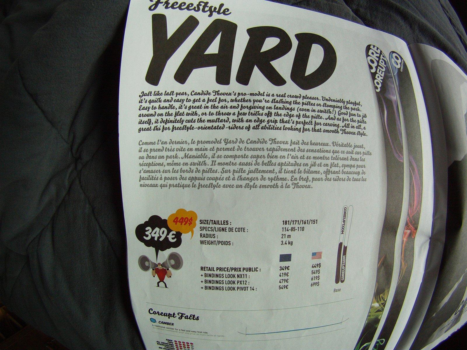 Coreupt candide yard