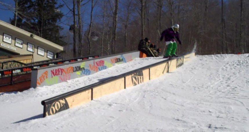 46 foot rail at loon