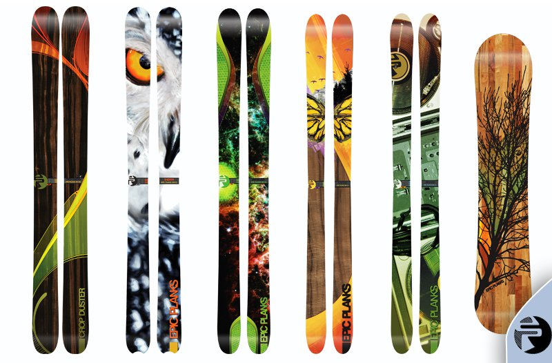 2011-2012 Epic Planks Lineup