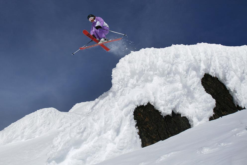 Ski camper air