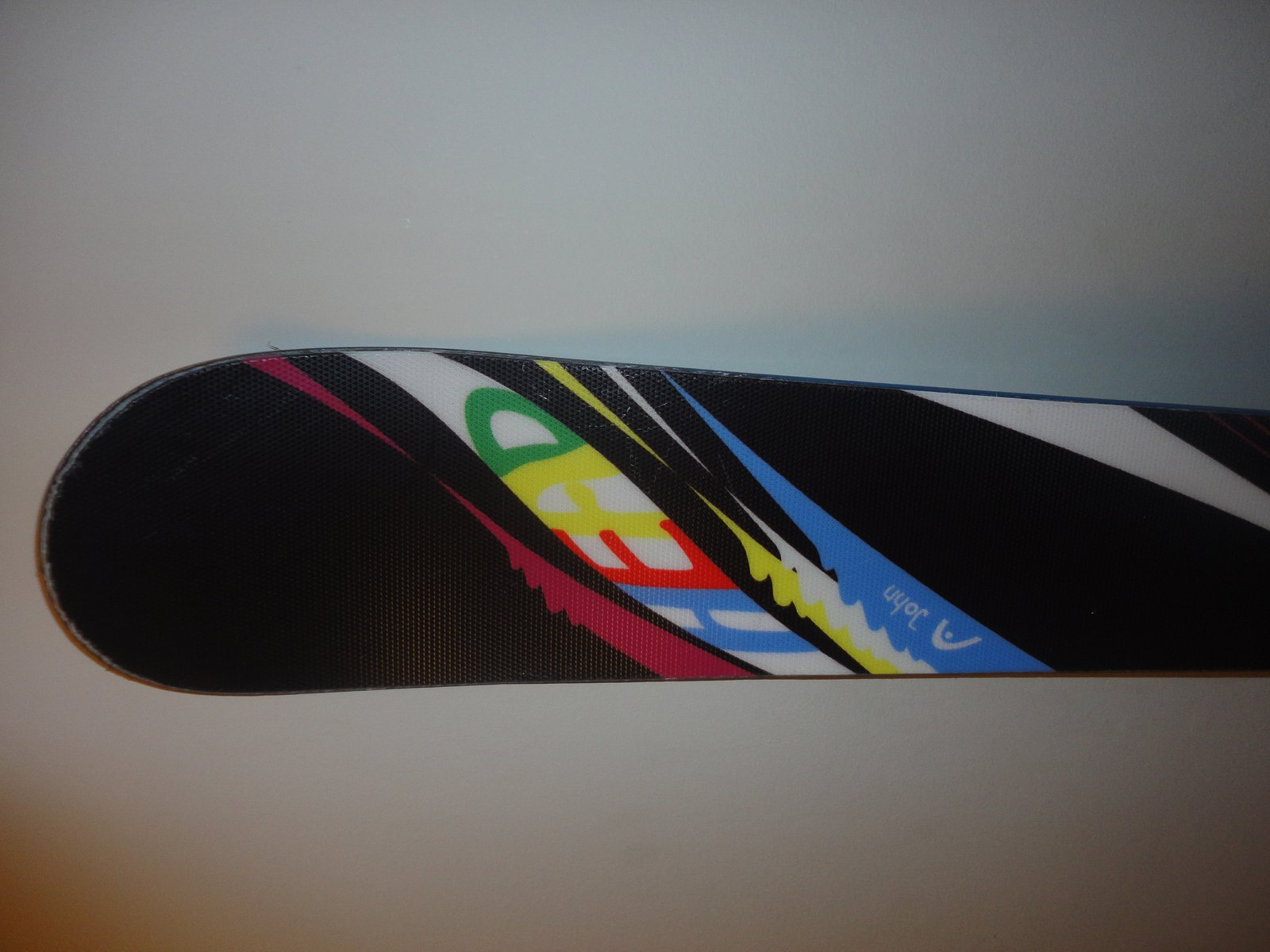 Top of ski