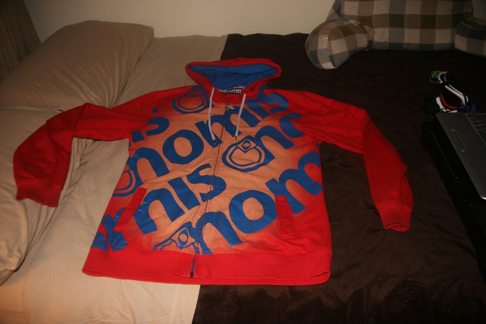 Back of Large Nomis Hoodie