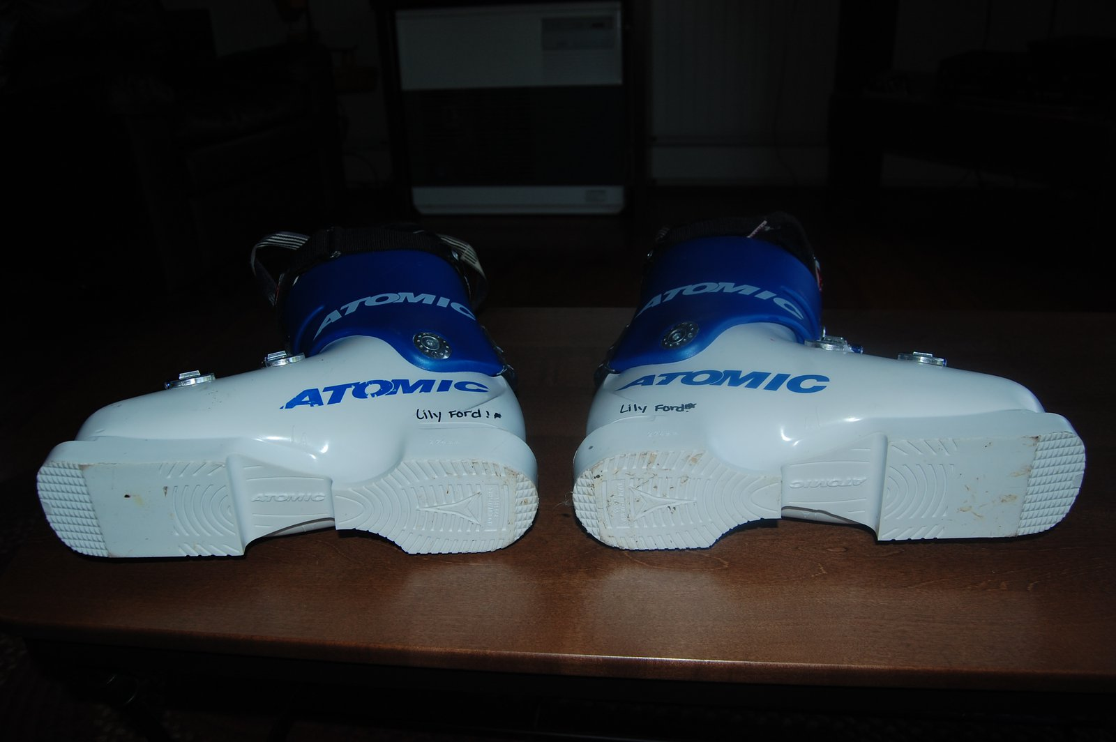 Race boot