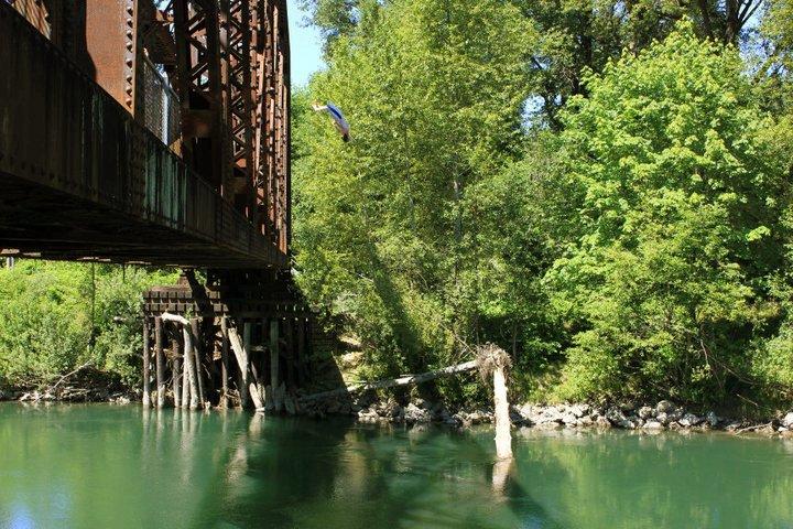 Bridge Backflip