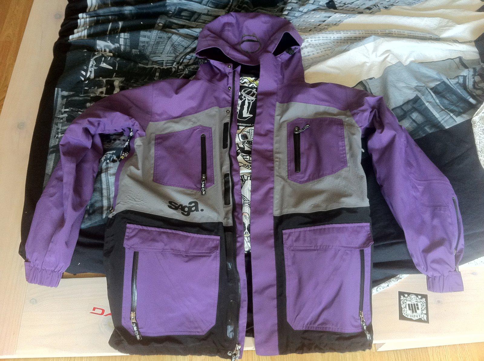 Jacket front