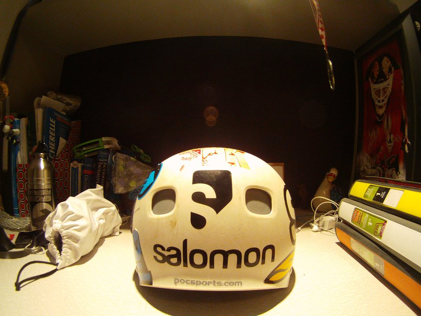 Poc helmet back