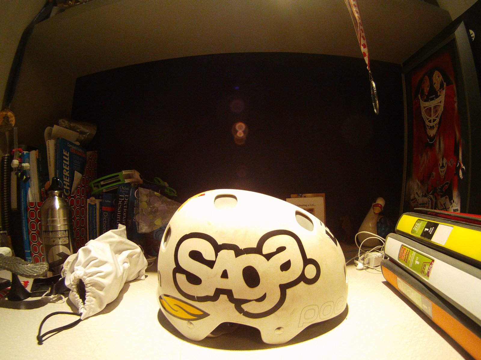 Poc helmet right side
