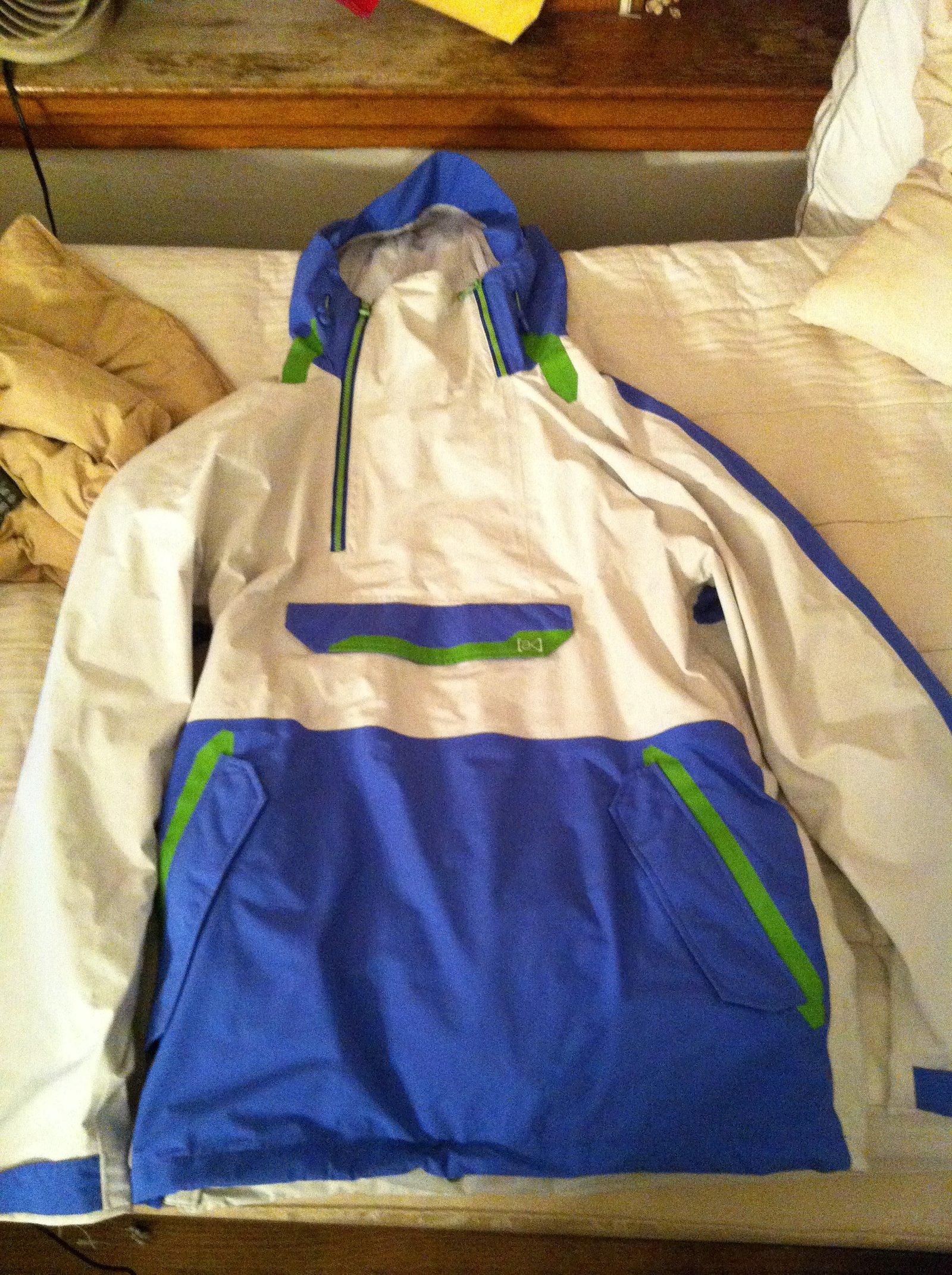 Burton AK 2L Anorak Jacket Size L