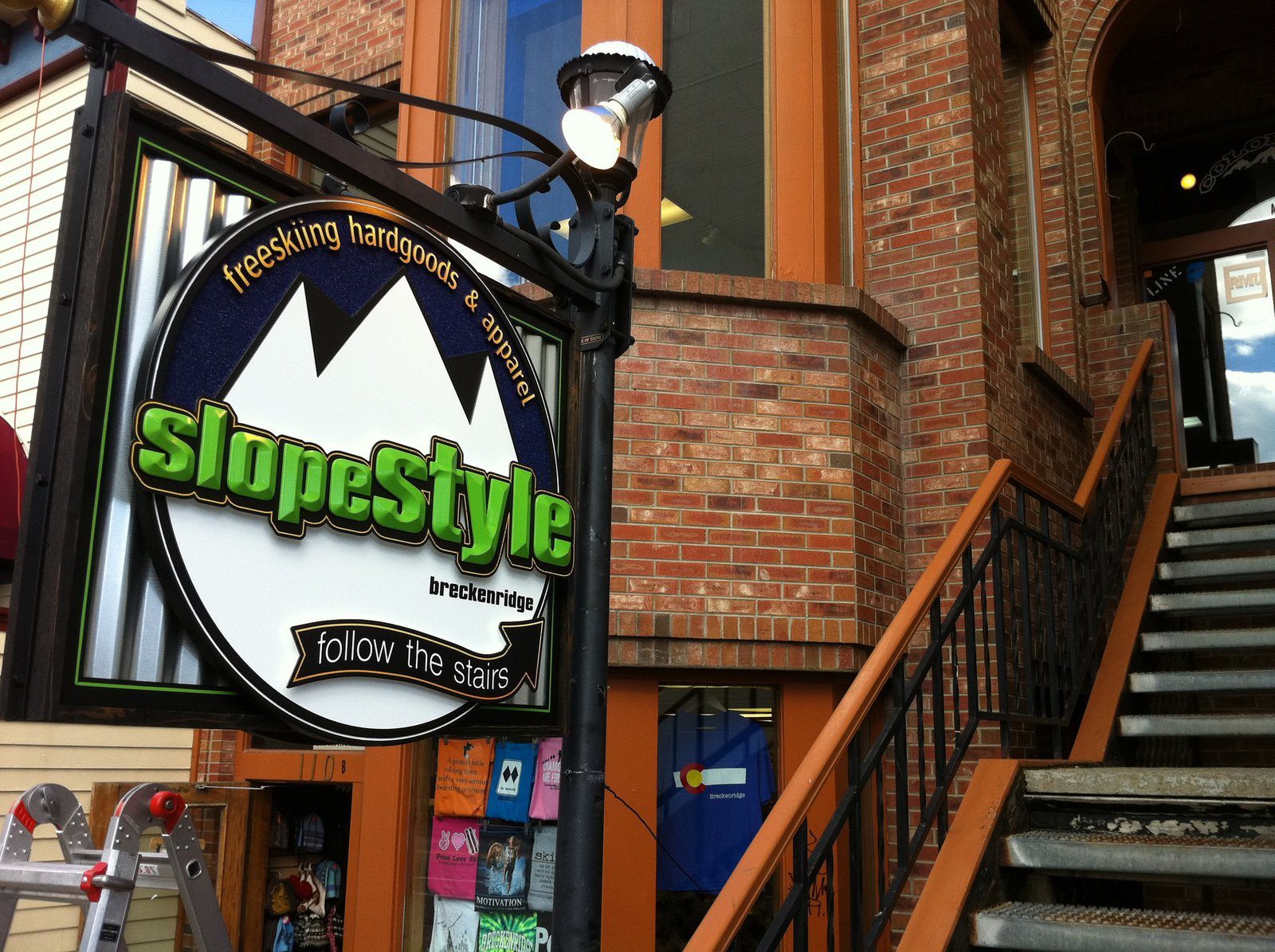 SlopeStyle sign