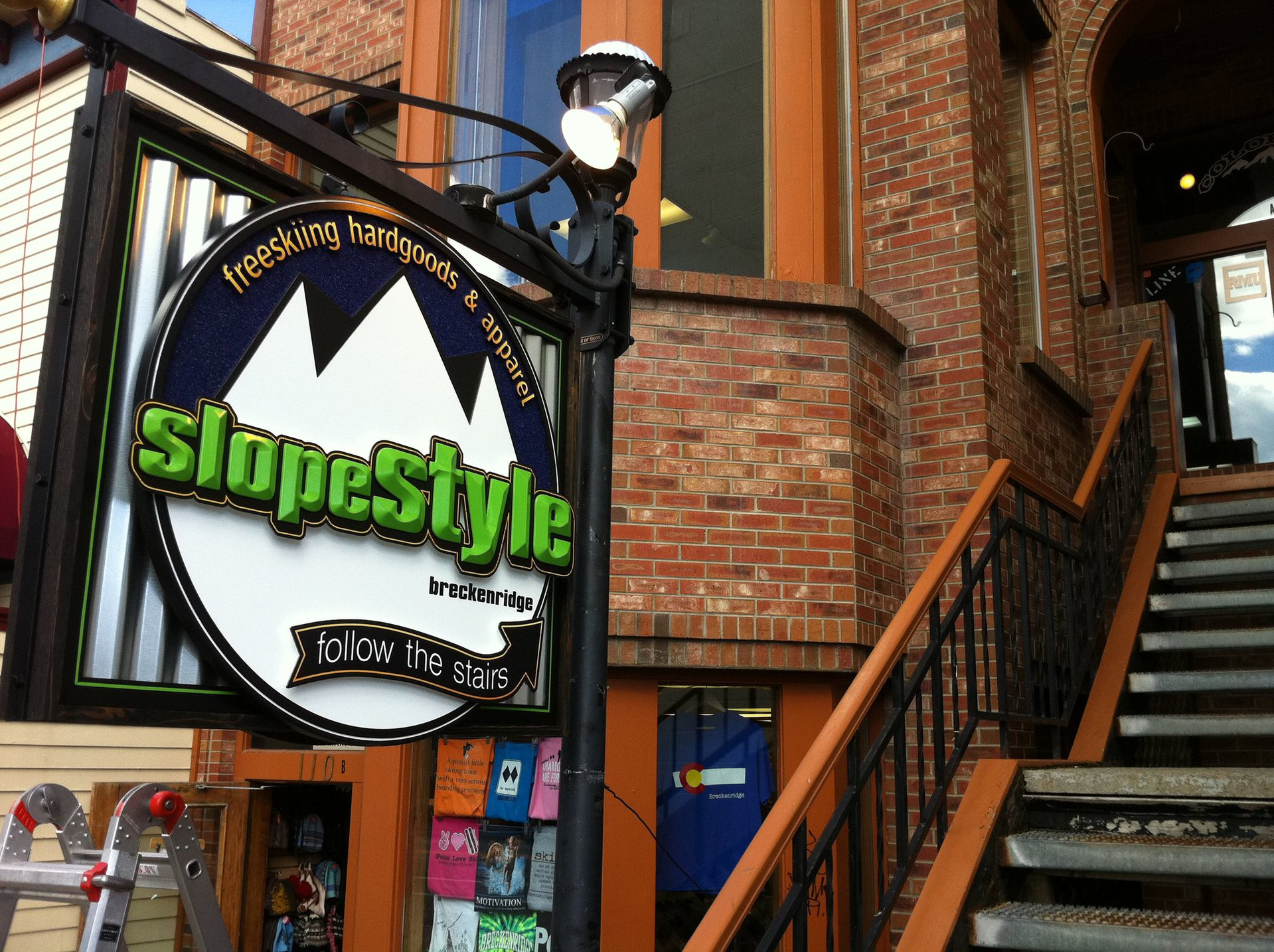 SlopeStyle sign