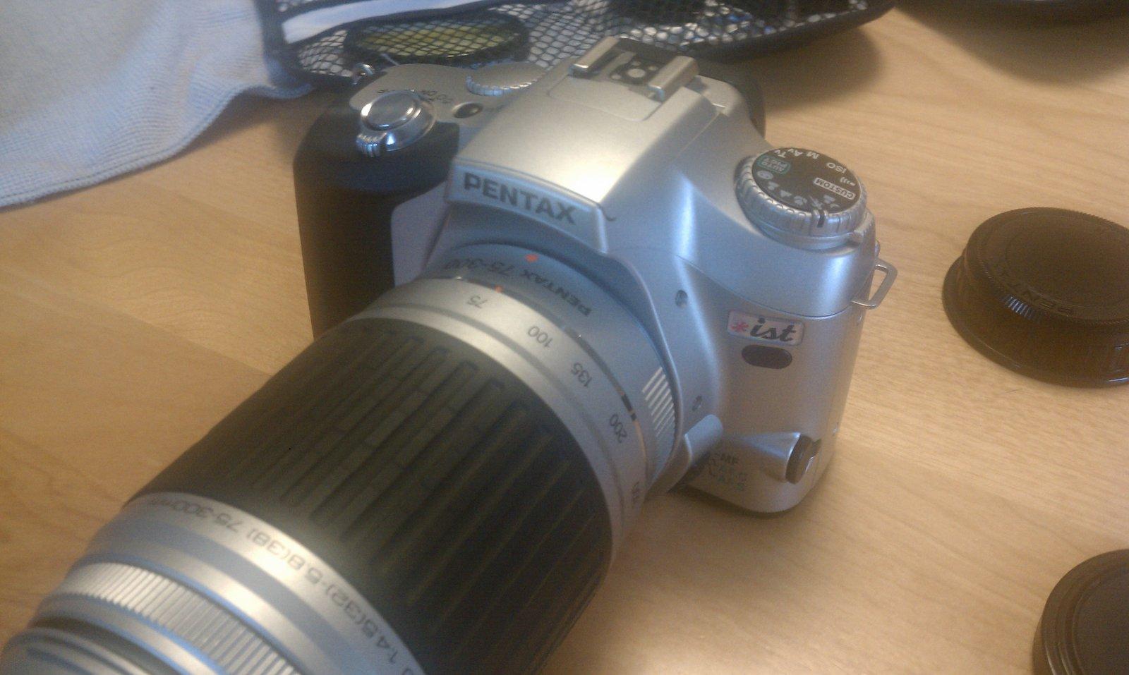 Camera big lens