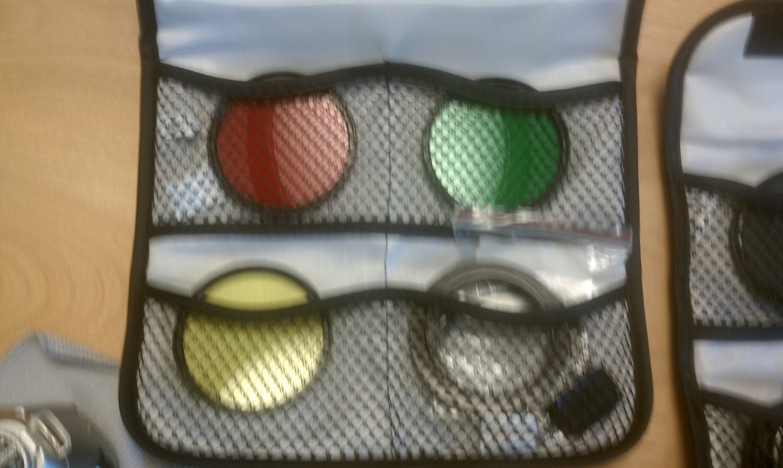 Lenses colorful