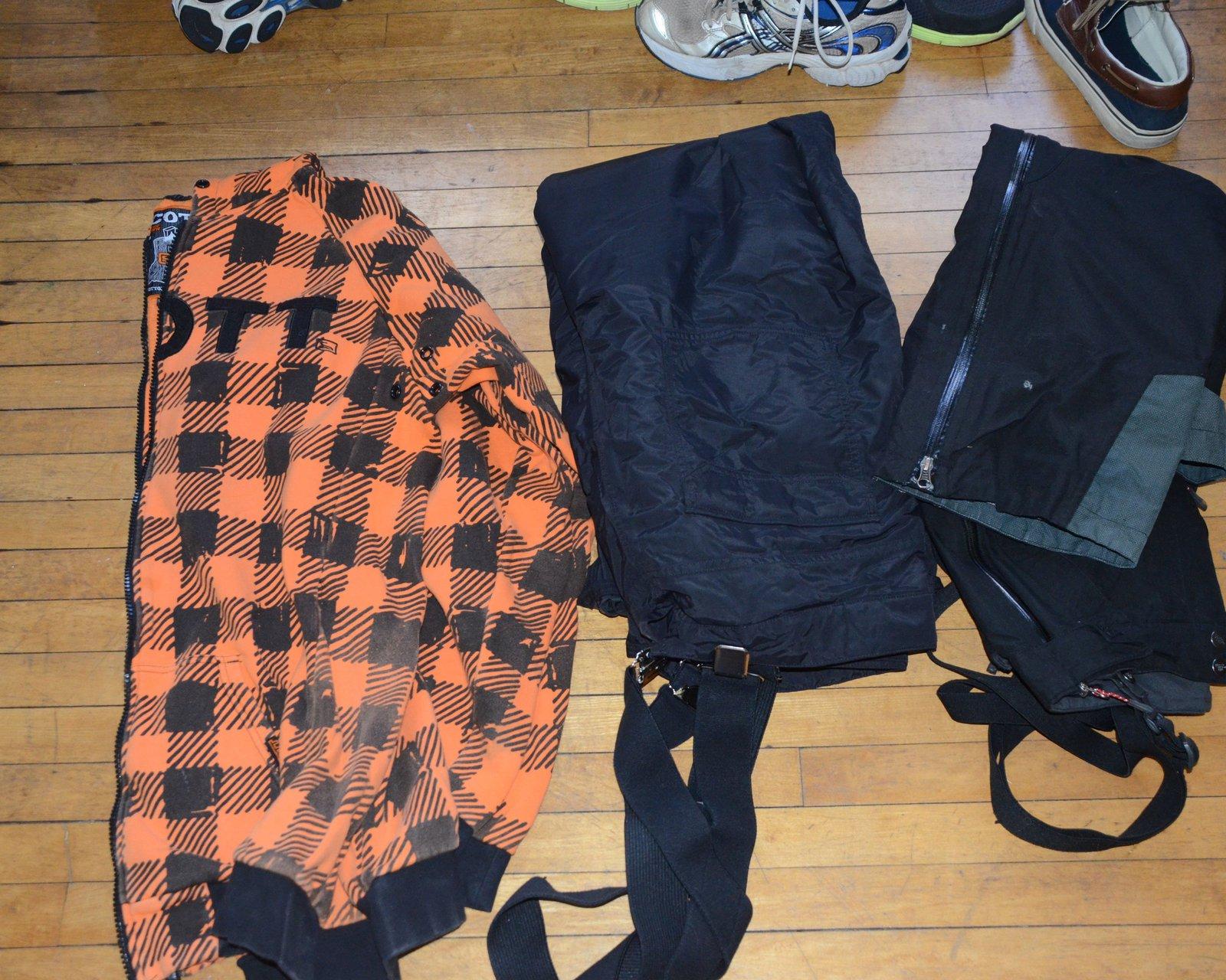 Scott Sweatshirt and 2 NF Pants