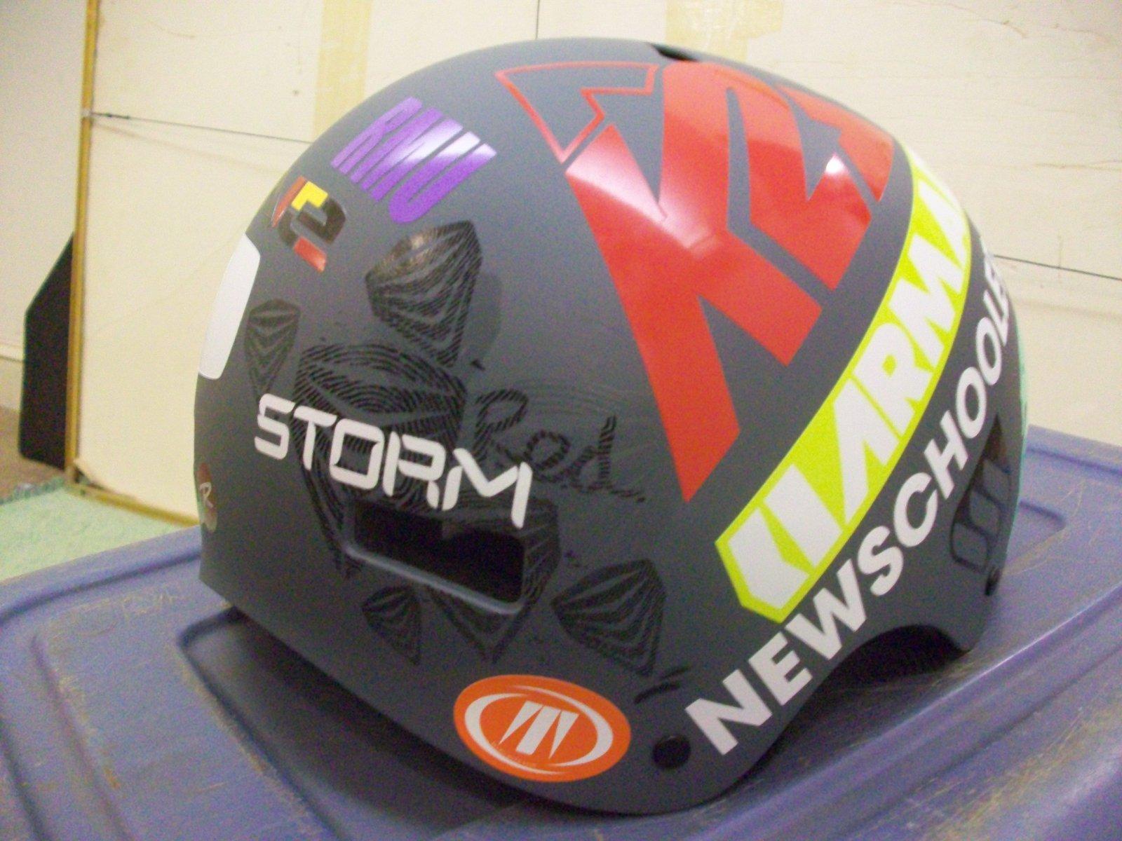 My helmet2