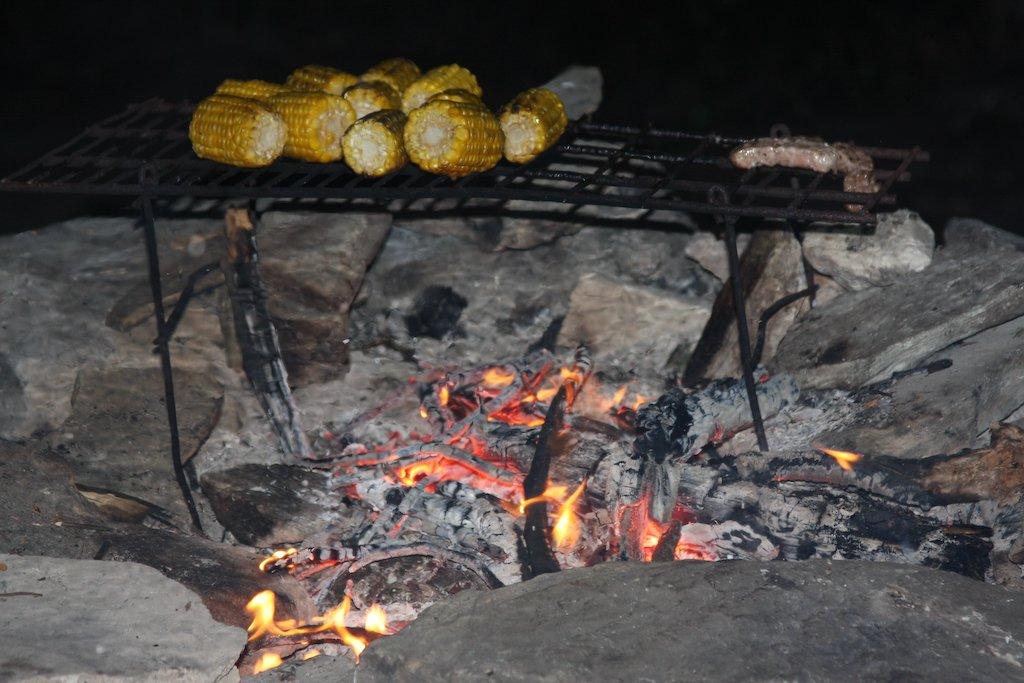 Corn and Porkchops