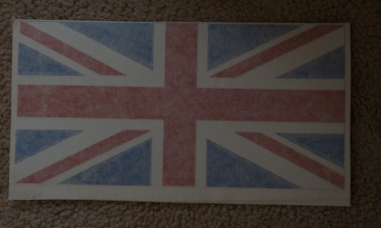 3-Coloured UK Flag