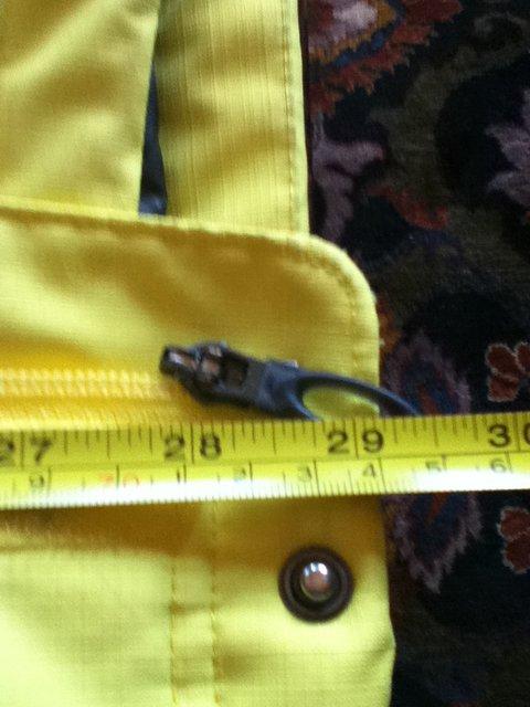 For bonersucker zipper length