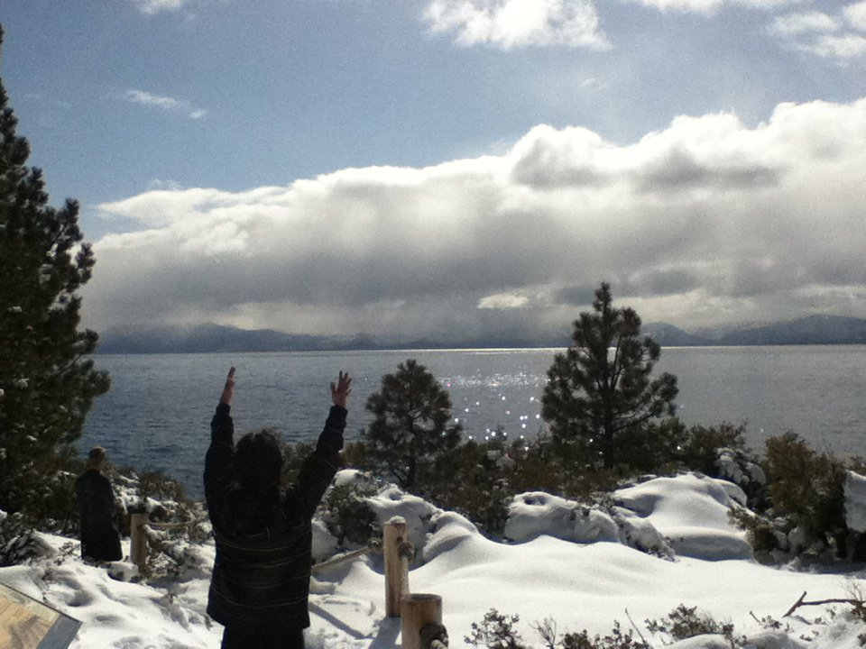 Pow Hunting in Tahoe