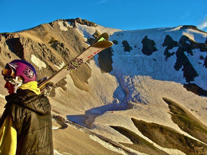 July Skiing