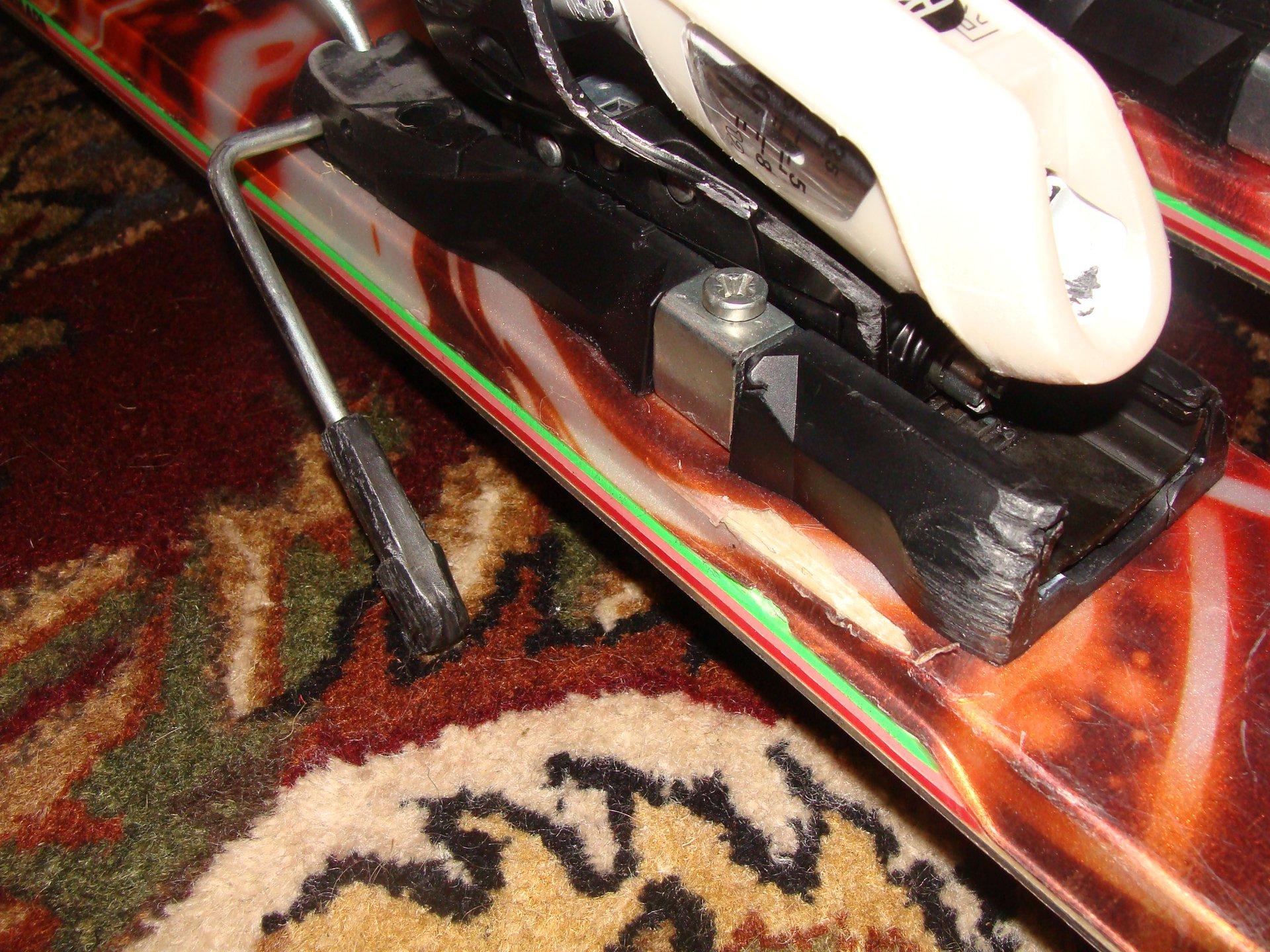 Topsheet Damage