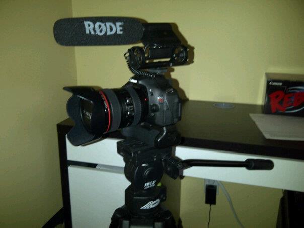 Filming setup completed !