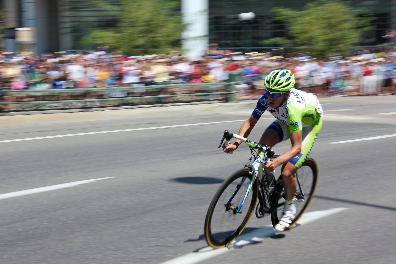Shot from Pro Cycling Challenge 2011