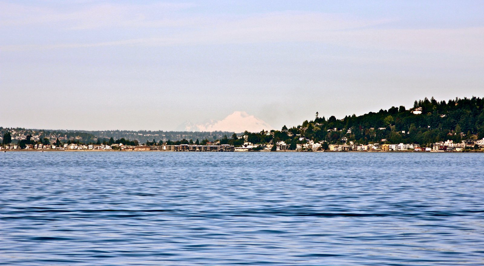 Mt. Baker from Puget Sound