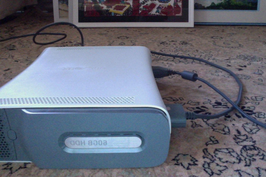 Xbox with 60 GB hard drive for sale. Check my sales