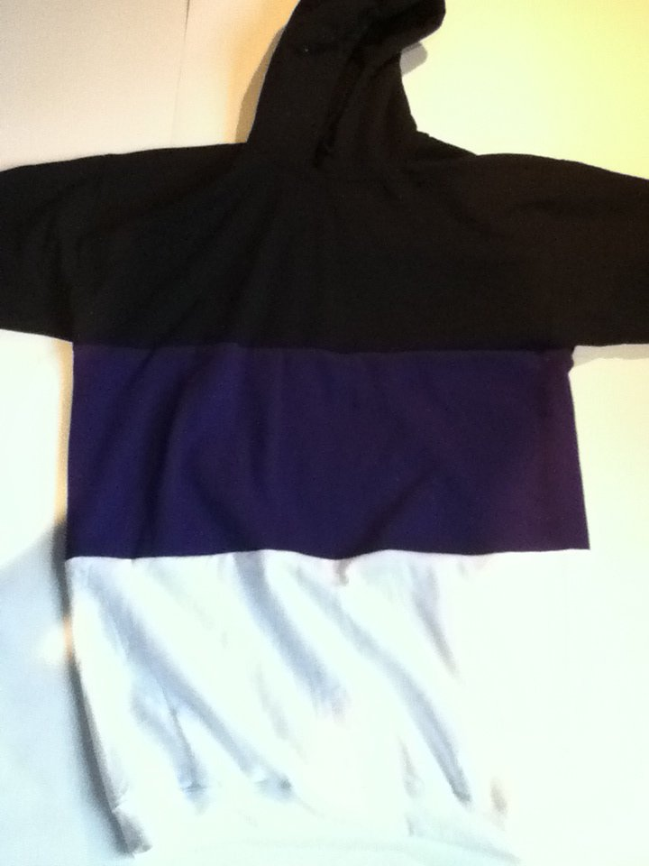 Black Purple White