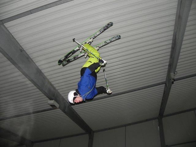 Mitch indoor backflip