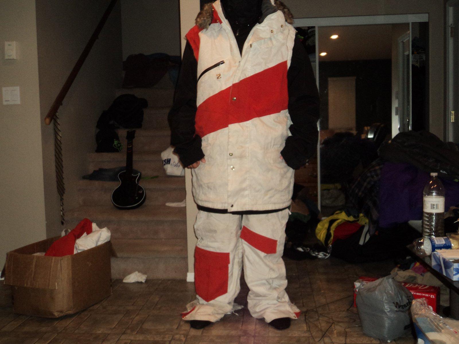 2xl G-vest and L G-pants