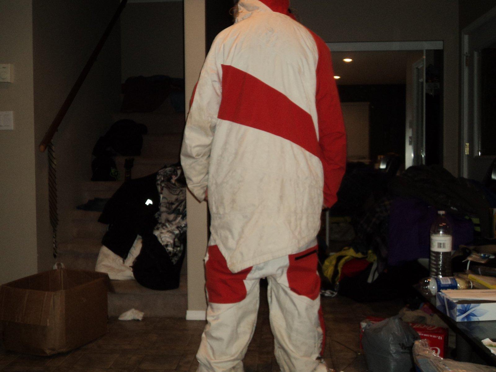 Large G-suit rear