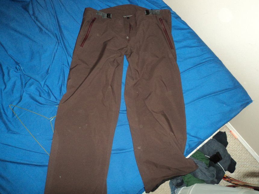 Arteryx xxl tall brown pants