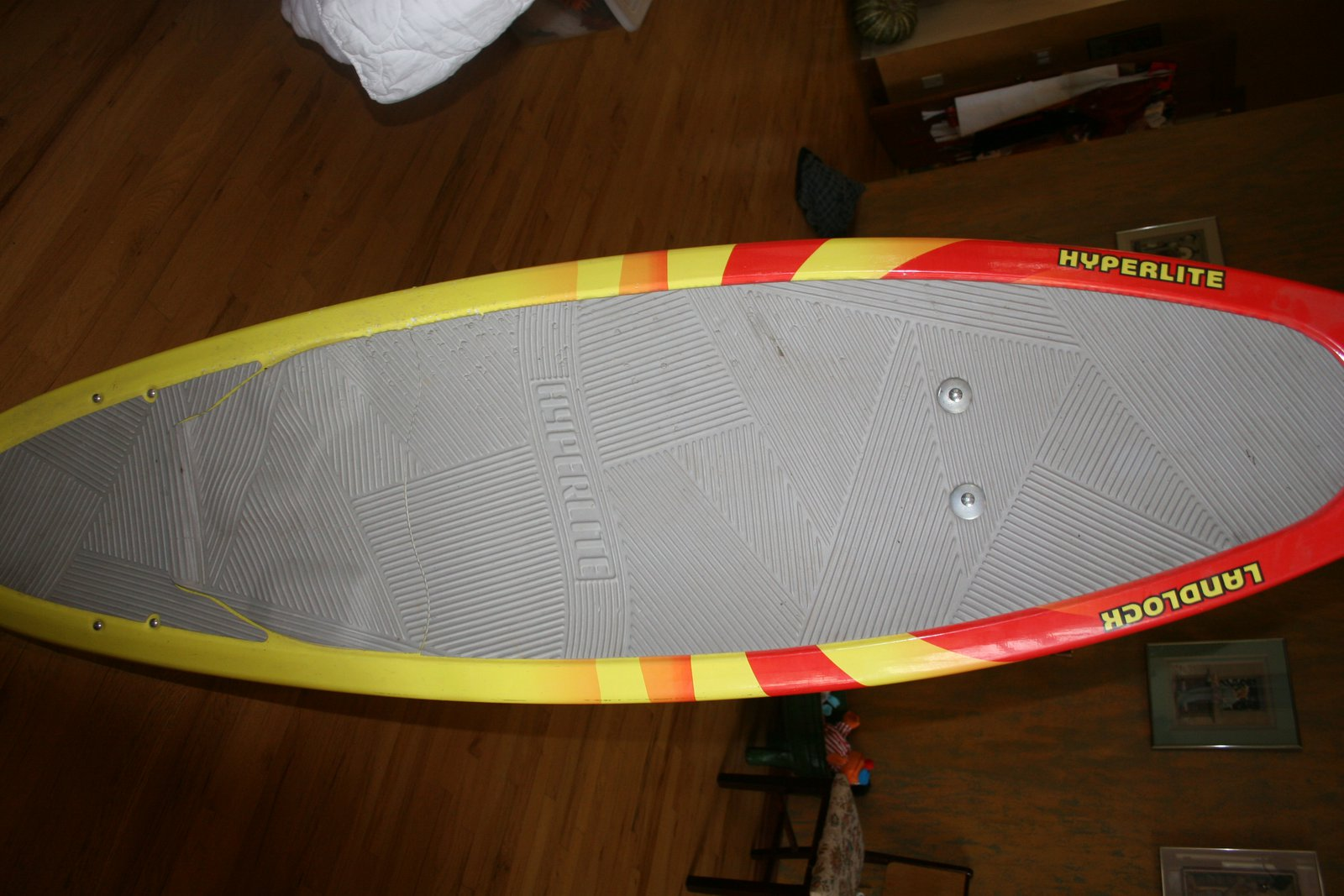 Front of ze board