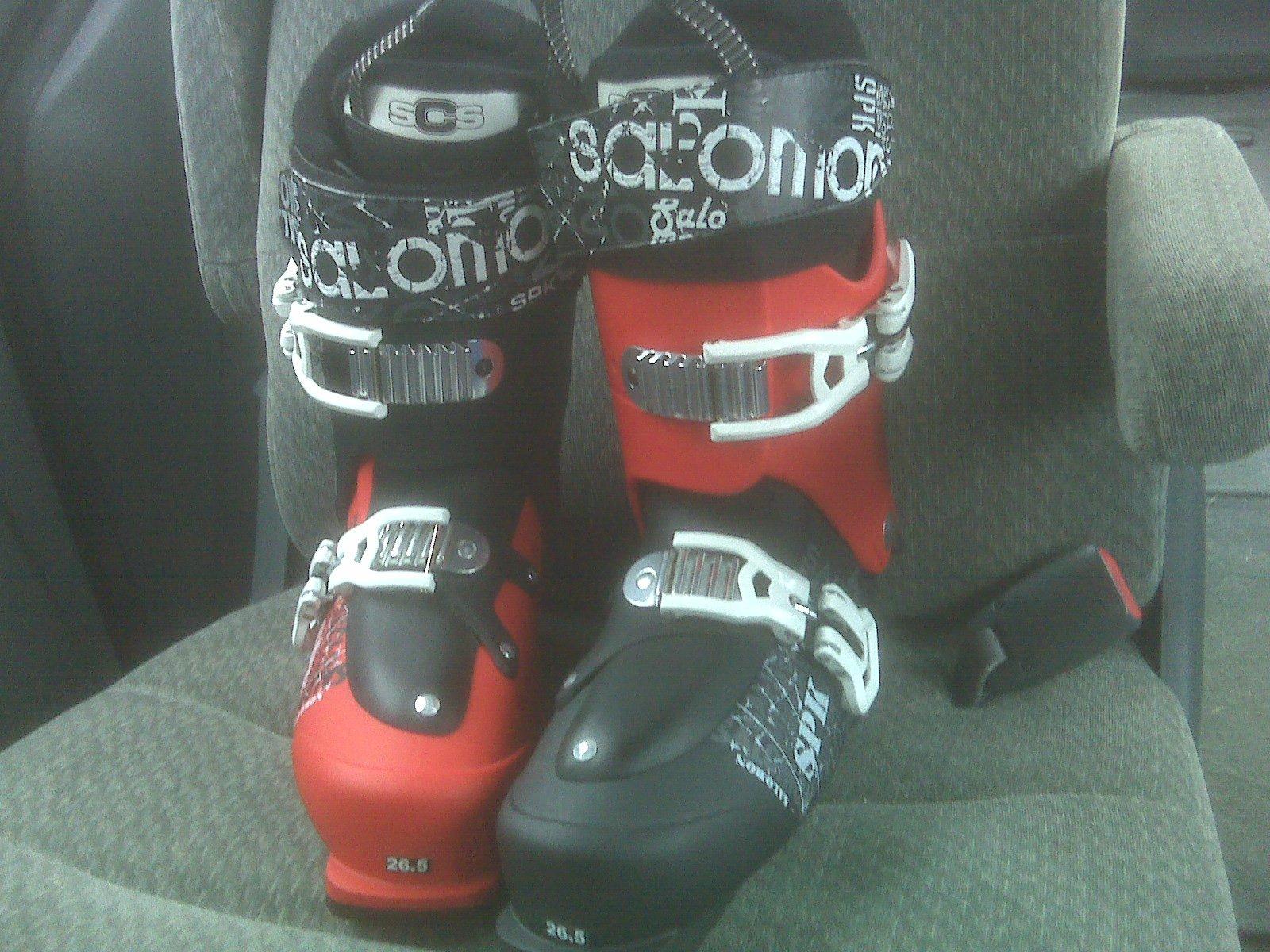 SPK boots 2011 season