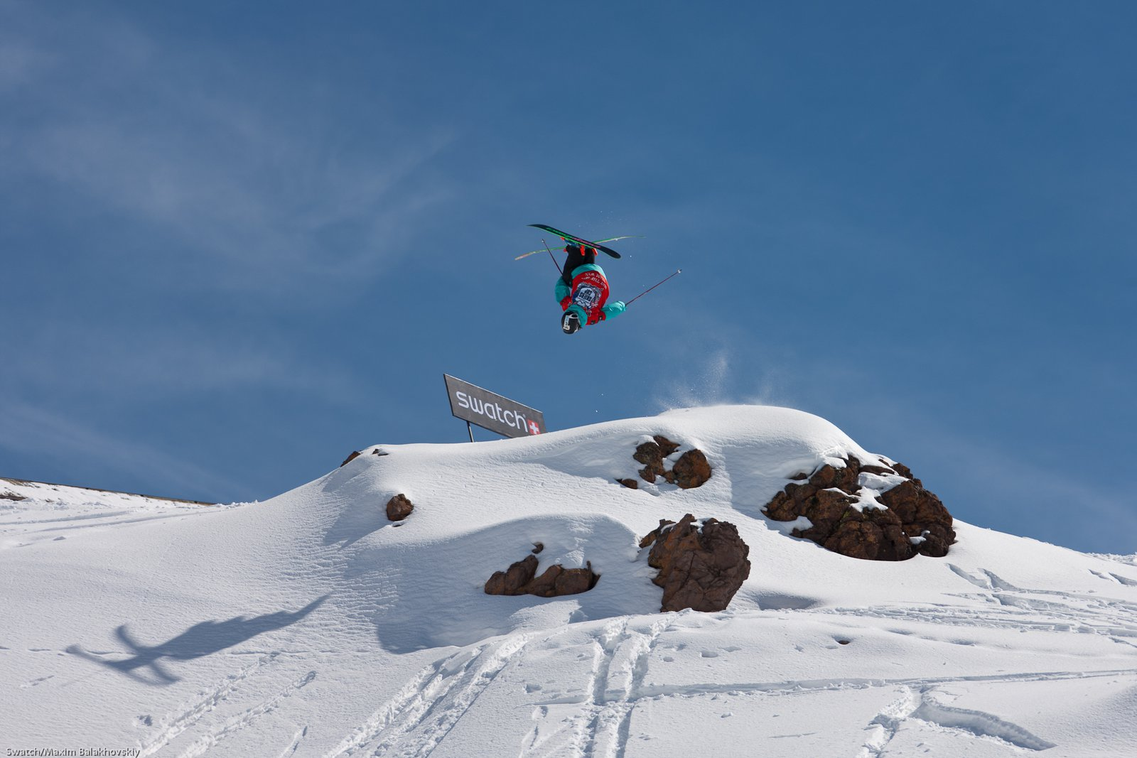 Rory Bushfield at the Swatch Skiers Cup