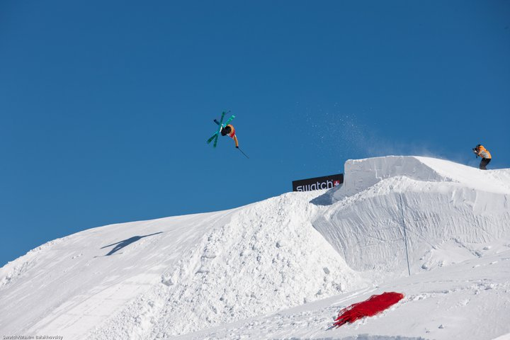 Matt Margetts at the Swatch Skiers Cup