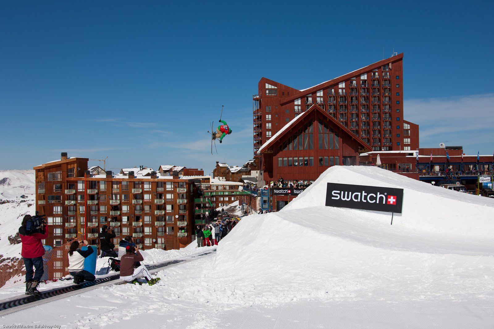 Chopo Diaz at the Swatch Skiers Cup