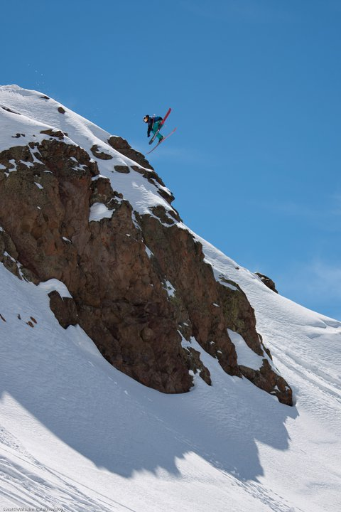 Richard Permin at the Swatch Skiers Cup