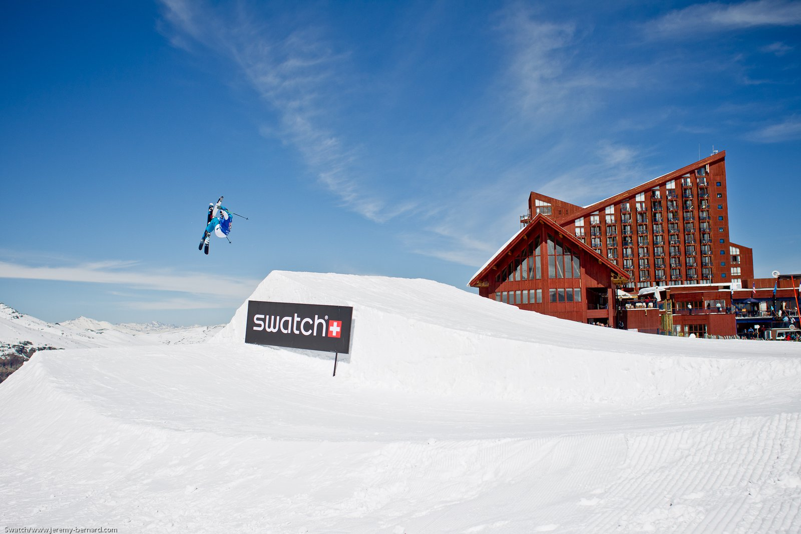 Nicolas Vuignier at the Swatch Skiers Cup