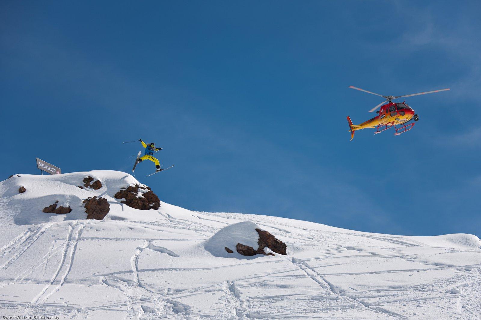 Kaj Zackrisson at the Swatch Skiers Cup