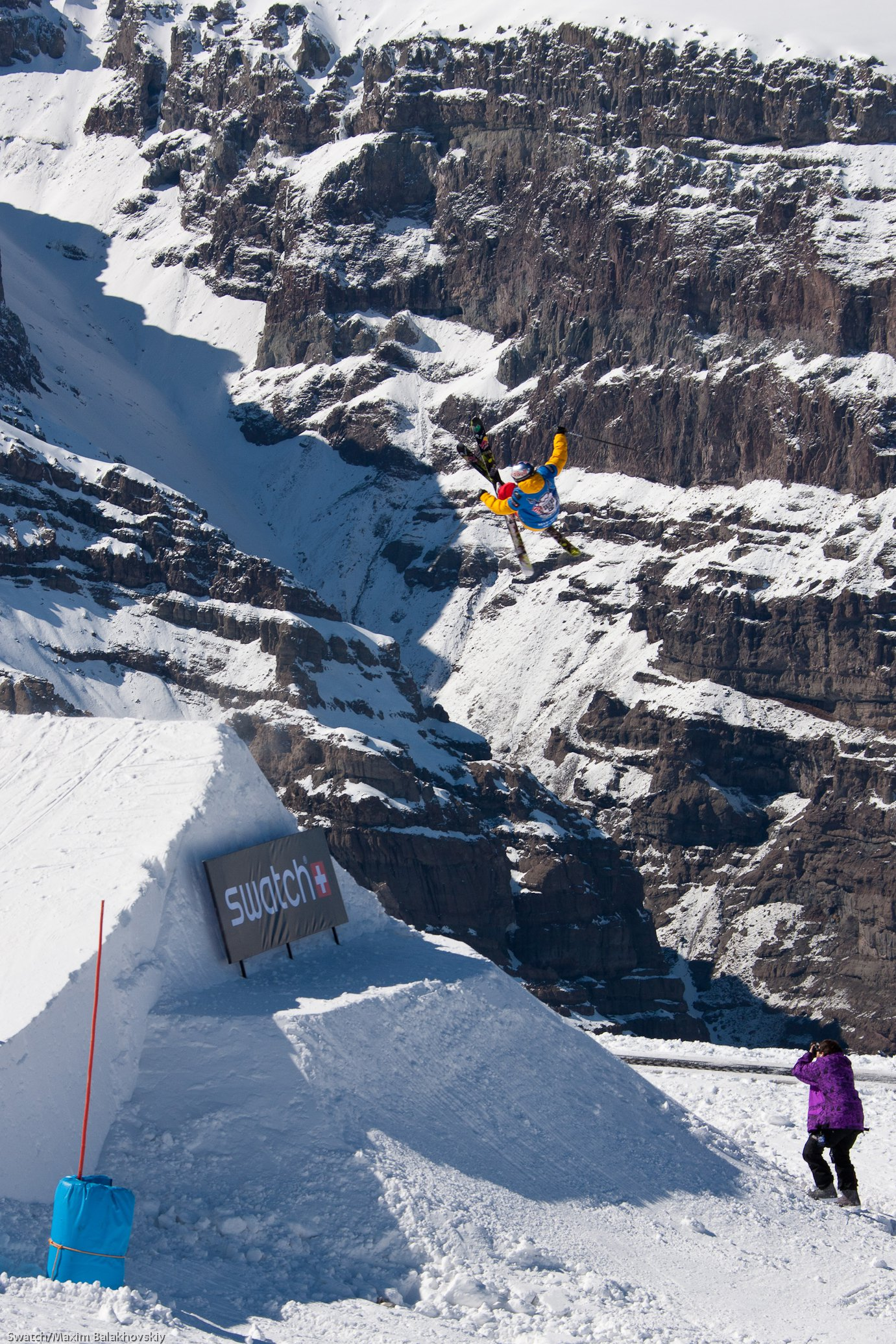Henrik Windstedt at the Swatch Skiers Cup