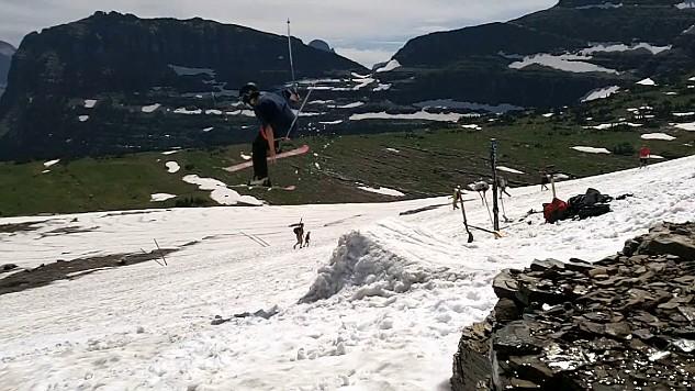 Glacier Park in August