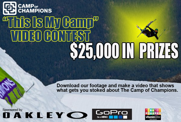 """""""THIS IS MY CAMP"""" Video Contest $25,000 in Prizing"""