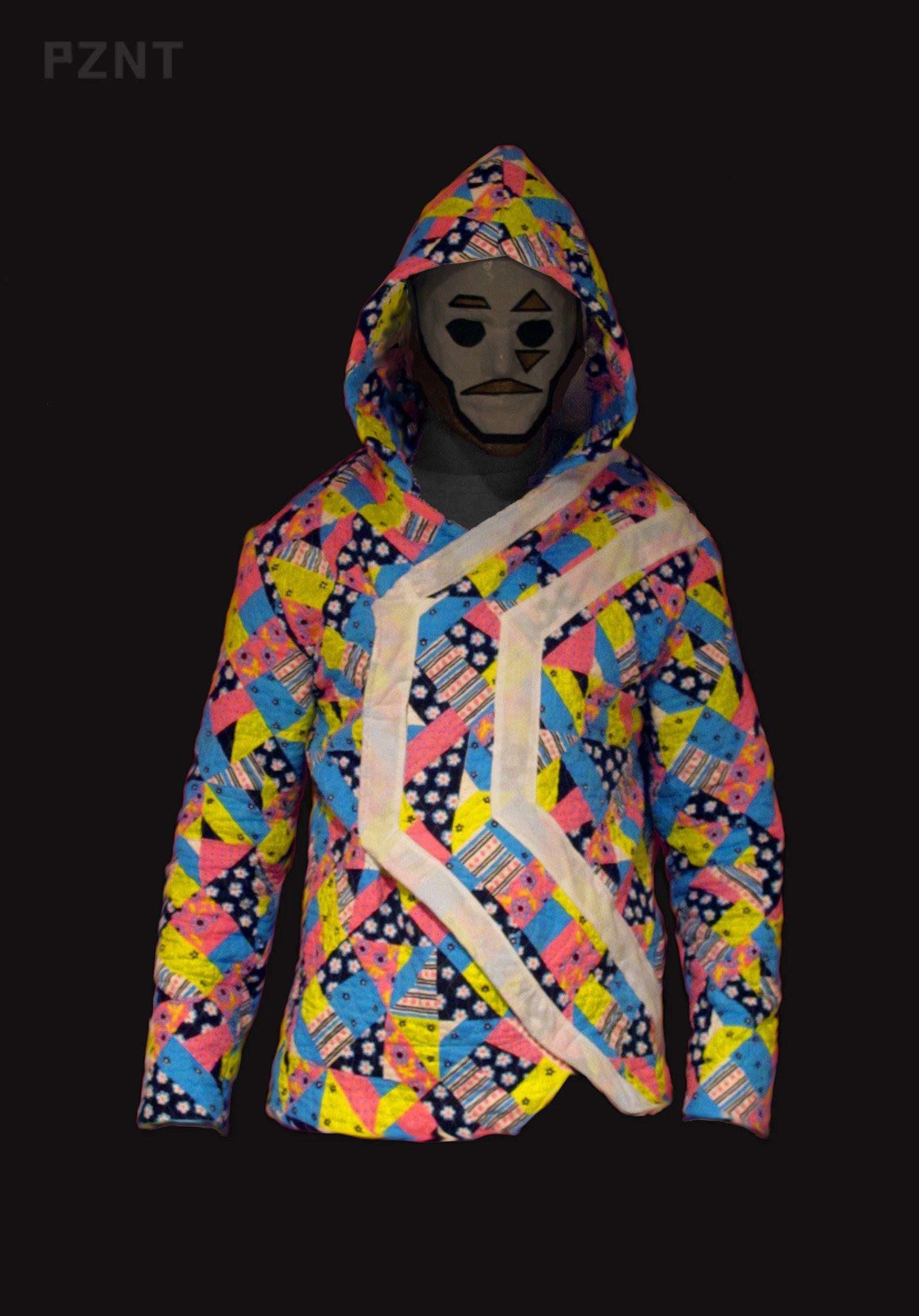 PZNT kaliedoscope hoodie