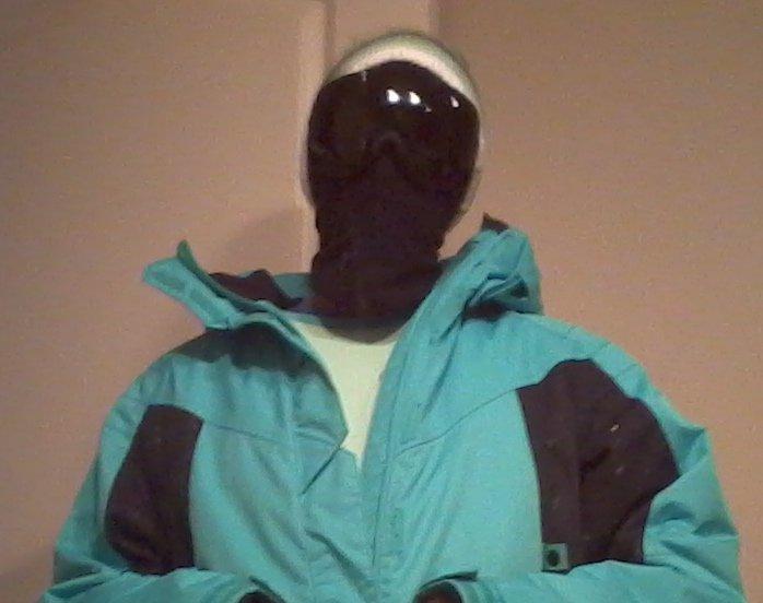 My skiing getup